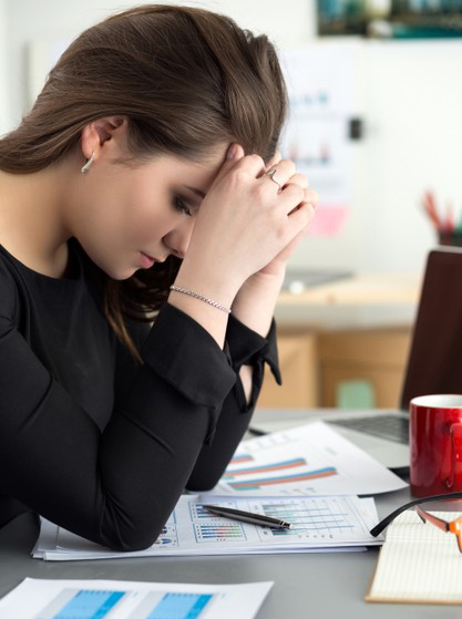 signs of work depression